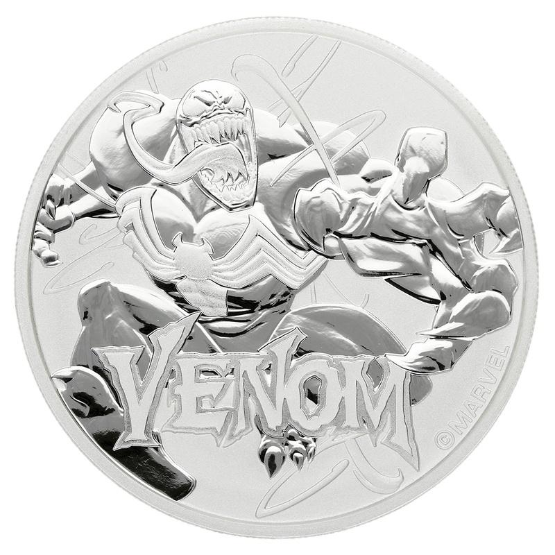 2020 Venom 1oz Silver Coin
