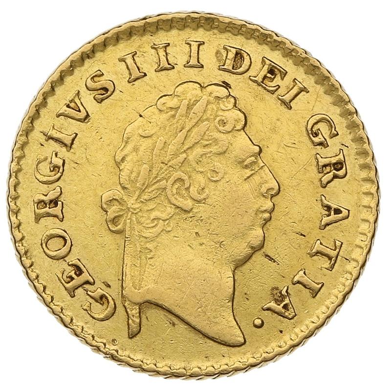 1800 George III Third Guinea Gold Coin