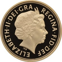 2000 - Gold £5 Proof Coin (Quintuple Sovereign)