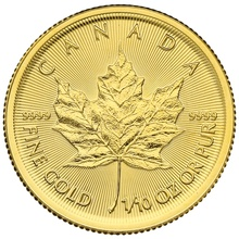 2020 Tenth Ounce Gold Maple