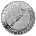 2015 1kg Kilo Silver Kookaburra Coin
