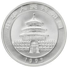 1993 1oz Silver Chinese Panda