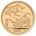 2021 Gold Half Sovereign