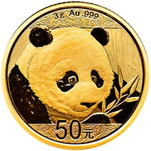 2018 3g Gold Chinese Panda Coin