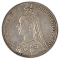 1889 Victoria Jubilee Head Crown - Very Fine
