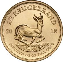 2018 Half Ounce Krugerrand Gold Coin