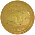 2009 10oz Perth Mint Year of the Ox Lunar Gold Coin