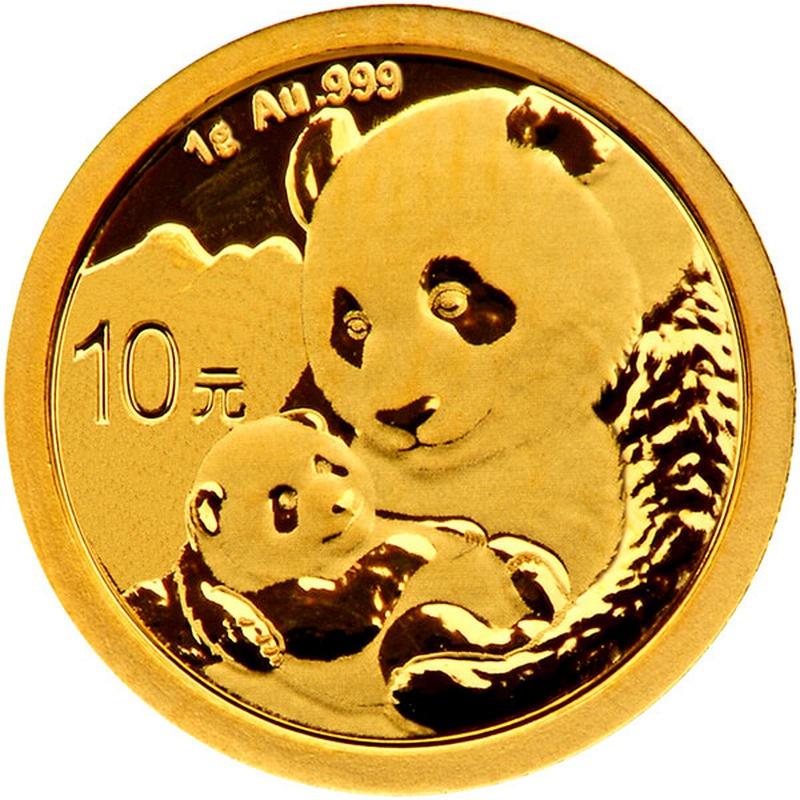 2019 1g Gold Chinese Panda Coin
