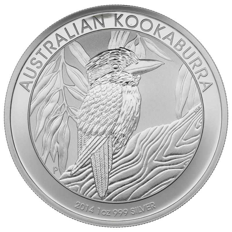 2014 1oz Silver Kookaburra