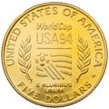 1994 USA World Cup - American Gold Commemorative $5
