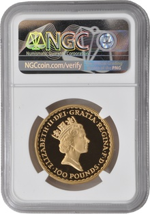 1987 One Ounce Proof Britannia Gold Coin NGC PF69