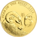 2015 Royal Mint 1oz Year of the Sheep Gold Coin