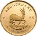 1969 1oz Gold Proof Krugerrand