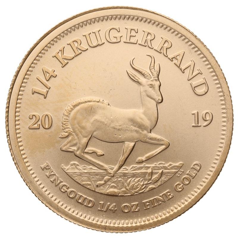 2019 Quarter Ounce Krugerrand Gold Coin