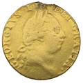 1787 George III Gold Guinea - Good