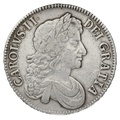 1679 Charles II Silver Crown TRICESIMO PRIMO