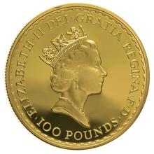 1992 One Ounce Proof Britannia Gold Coin