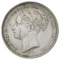 1883 Queen Victoria Silver Shilling
