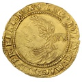 "1613 James I Gold Laurel mm ""Trefoil"""