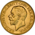 1931 Gold Sovereign - King George V - M NGC AU58