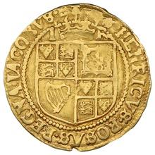 1606-07 James I Britain Crown mm Escallop Gold Coin
