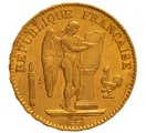 1874 20 French Francs - Guardian Angel - A