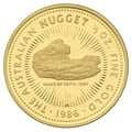1986 Proof Half Ounce Gold Australian Nugget