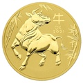 2021 2oz Perth Mint Year of the Ox Gold Coin