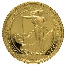 1994 Tenth Ounce Proof Britannia Gold Coin