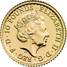 2017 Tenth Ounce Gold Britannia Gift Boxed