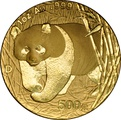2001 1oz Gold Chinese Panda Coin