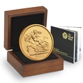 2013 - Gold £5 Brilliant Uncirculated Coin Boxed