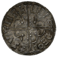 1016-1035 Cnut Hammered Silver Penny Quatrefoil type Thetford Sumarlithr