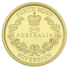 2019 Australian Gold Proof Sovereign Boxed