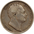 1834 William IV Silver Half Crown