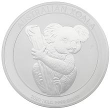 2020 1kg Silver Australian Koala