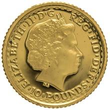 2000 Tenth Ounce Proof Britannia Gold Coin