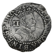 1603-4 James I Silver Twopence - mm Thistle