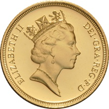 1996 Gold Sovereign - Elizabeth II Third Head Proof