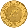 1995 1oz Gold Australian Nugget