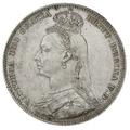 1891 Queen Victoria Silver Shilling