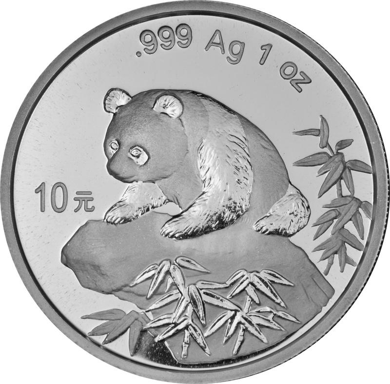 1999 1oz Silver Chinese Panda