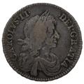 1671 Charles II Halfcrown