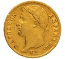 1811 20 French Francs - Napoleon (I) Laureate Head - A