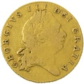 1801 George III Half Guinea Gold Coin