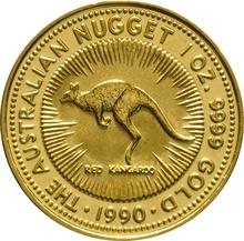 1990 1oz Gold Australian Nugget