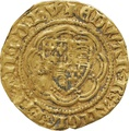 Edward III Gold Quarter Noble - Good Fine