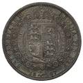1887 Victoria Silver Half Crown