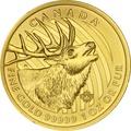 2017 1oz Canadian Elk Gold Coin