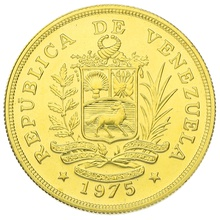 1975 Venezuelan 1000 Bolivares